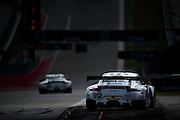 September 19, 2015: Tudor at Circuit of the Americas. #912 Bergmeister, Bamber, Porsche NA 911 RSR, GTLM, #911 Tandy, Pilet, Porsche NA 911 RSR GTLM