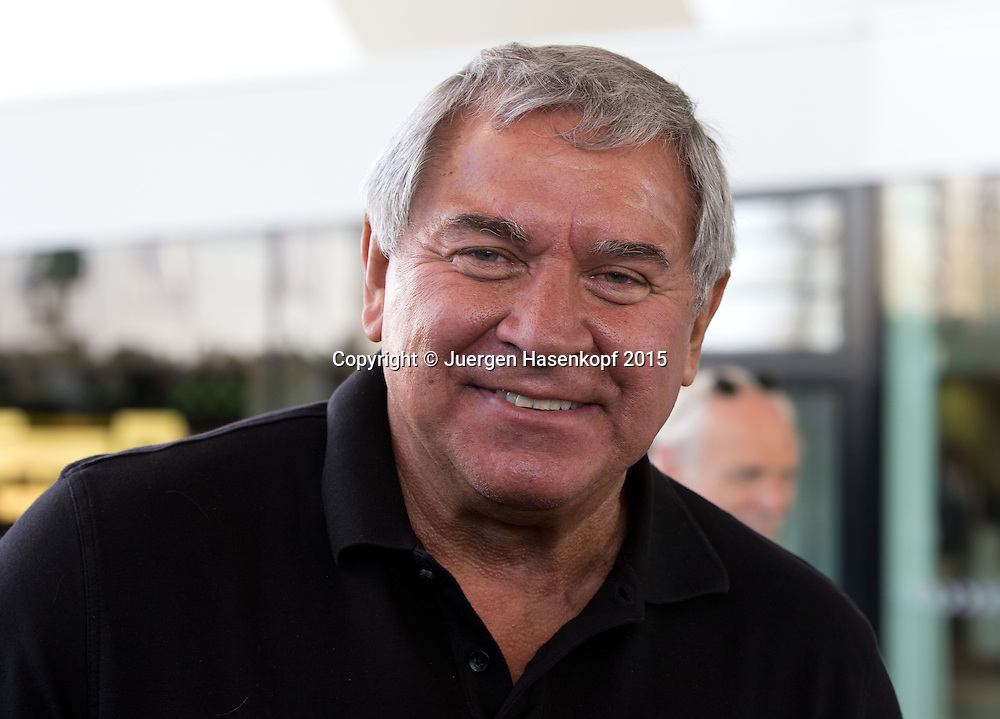 Steve Miller, Chief Executive Officer of Agassi Enterprises and Agassi Graf Holdings, <br /> Tennis - Porsche Grand Prix - WTA -   - Stuttgart -  - Germany  - 21 April 2015. <br /> &copy; Juergen Hasenkopf