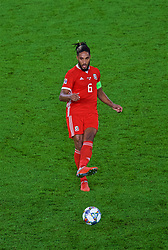 CARDIFF, WALES - Thursday, September 6, 2018: Wales' Ashley Williams in action during the UEFA Nations League Group Stage League B Group 4 match between Wales and Republic of Ireland at the Cardiff City Stadium. (Pic by Laura Malkin/Propaganda)