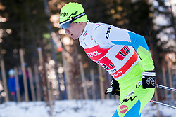 Miha Dolar (SLO) during the Man team sprint race at FIS Cross Country World Cup Planica 2016, on January 17, 2016 at Planica, Slovenia. Photo By Urban Urbanc / Sportida
