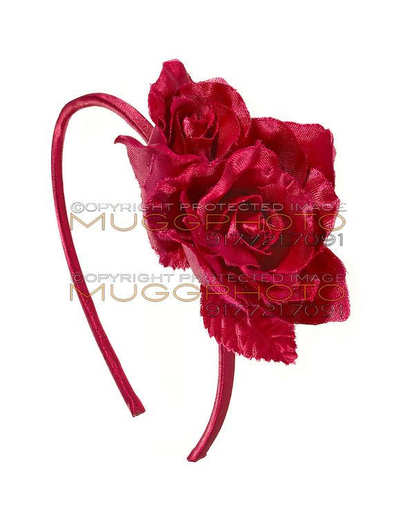 red rose hair band