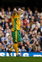 Photo: Leigh Quinnell.<br /> Chelsea v Norwich City. The FA Cup. 17/02/2007.<br /> Norwichs' Lee Croft unhappy after his shot goes wide.