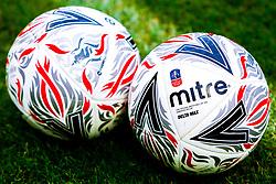 FA Cup match ball - Mandatory by-line: Ryan Crockett/JMP - 09/11/2019 - FOOTBALL - One Call Stadium - Mansfield, England - Mansfield Town v Chorley - Emirates FA Cup first round