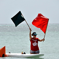 Aruba Hi Winds 2012. Aruba Island, July 3-July 9, 2012. International Competition windsurfing and kite surfing. Jimmy Villalta & Valentina Calatrava