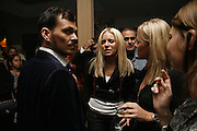 Sienna Miller, Matthew Williamson and Kiera Parks, Sienna Miller  new ambassador party. 17 Berkeley Street, London, W1.  4 October 2006. -DO NOT ARCHIVE-© Copyright Photograph by Dafydd Jones 66 Stockwell Park Rd. London SW9 0DA Tel 020 7733 0108 www.dafjones.com