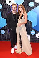 MTV European Music Awards at the AHOY, Rotterdam.<br /> <br /> On the photo:   Stefanie  copyright robin utrecht Giesinger en Marcus Butler copyright robin utrecht