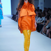 London,England,UK : 7th June 2016 : Graduate student Michelle Branch showcases their work at the GFW 25th Anniversary Day three show of Brighton University held at Truman Brewery, London. © See Li/Alamy Live