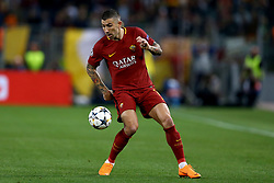 May 2, 2018 - Rome, Lazio, Italy - AS Roma v FC Liverpool - Champions League semi-final second leg.Aleksandar Kolarov of Roma at Olimpico Stadium in Rome, Italy on May 02, 2018. (Credit Image: © Matteo Ciambelli/NurPhoto via ZUMA Press)