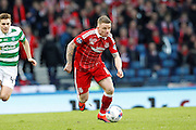 Aberdeen's  Jonathan Hayes (11) during the Betfred Scottish Cup  Final match between Aberdeen and Celtic at Hampden Park, Glasgow, United Kingdom on 27 November 2016. Photo by Craig Galloway.