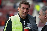 Hibernian FC Manager Alan Stubbs during the Scottish League Cup semi-final match between Hibernian and St Johnstone at Tynecastle Stadium, Gorgie, Scotland on 30 January 2016. Photo by Craig McAllister.