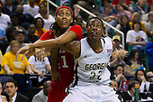 2012 ACC Women's Tourney Georgia Tech 87 - NC State 61