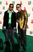 Edgardo Matta and Omar Vivani attend the 10th Annual Latin Grammy Awards at the Mandalay Bay Hotel in Las Vegas, Nevada on November 5, 2009.