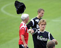 Fotball<br /> Norge<br /> 13.08.2012<br /> Foto: Morten Olsen, Digitalsport<br /> <br /> Trening Norge A foran landskampen mot Hellas<br /> <br /> Thomas Rogne