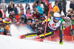 26.01.2020, Streif, Kitzbühel, AUT, FIS Weltcup Ski Alpin, Slalom, Herren, 2. Lauf, im Bild Elias Kolega (CRO) // Elias Kolega of Croatia in action during his 2nd run in the men's Slalom of FIS Ski Alpine World Cup at the Streif in Kitzbühel, Austria on 2020/01/26. EXPA Pictures © 2020, PhotoCredit: EXPA/ Johann Groder