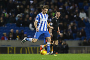 Brighton central midfielder, Dale Stephens (6) during the Sky Bet Championship match between Brighton and Hove Albion and Wolverhampton Wanderers at the American Express Community Stadium, Brighton and Hove, England on 1 January 2016. Photo by Phil Duncan.