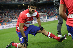 27.10.2013, Estadio Vicente Calderon, Madrid, ESP, Primera Division, Atletico Madrid vs Real Betis, 10. Runde, im Bild Atletico de Madrid's Diego Costa // Atletico de Madrid's Diego Costa during the Spanish Primera Division 10th round match between Club Atletico de Madrid and Real Betis at the Estadio Vicente Calderon in Madrid, Spain on 2013/10/28. EXPA Pictures © 2013, PhotoCredit: EXPA/ Alterphotos/ Victor Blanco<br /> <br /> *****ATTENTION - OUT of ESP, SUI*****