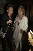 Christine Cazenove and Lady Chopard. Andy and Patti Wong host  party to cleebrate then Chinese New Year of the Dog. Royal Courts of Justice. Strand. London. 28 January 2006. © Copyright Photograph by Dafydd Jones 66 Stockwell Park Rd. London SW9 0DA Tel 020 7733 0108 www.dafjones.com
