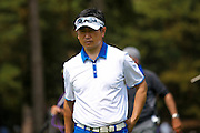 Korean golf professional Y E Yang during the BMW PGA Championship at the Wentworth Club, Virginia Water, United Kingdom on 28 May 2016. Photo by Simon Davies.