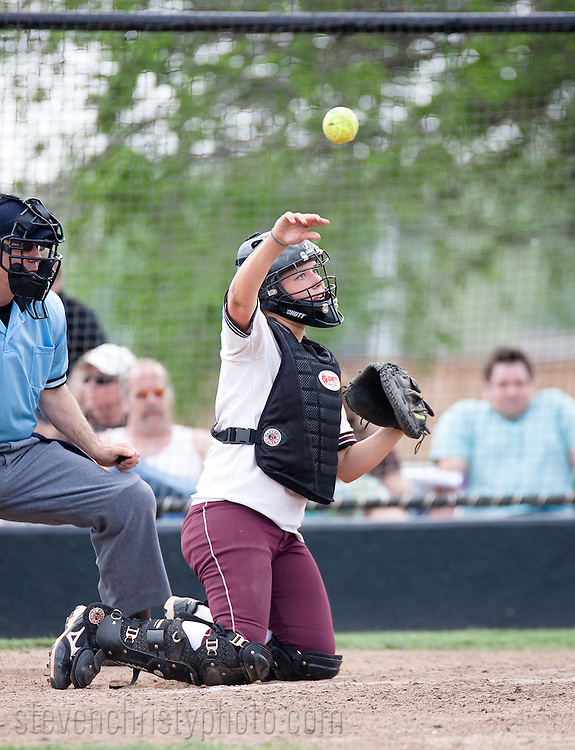 April 25, 2009: The Southern Nazarene University Crimson Storm play against the Oklahoma Christian University Lady Eagles on the campus of Oklahoma Christian University.