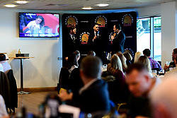 General views of the Chiefs Suite prior to kick off - Mandatory by-line: Ryan Hiscott/JMP - 07/03/2020 - RUGBY - Sandy Park - Exeter, England - Exeter Chiefs v Bath Rugby - Gallagher Premiership Rugby