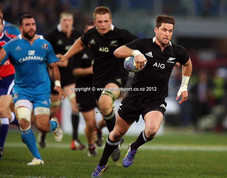 2012 Air New Zealand European Tour 17/11/2012<br /> Italy vs New Zealand<br /> New Zealand's Cory Jane<br /> Mandatory Credit &copy;INPHO/Dan Sheridan