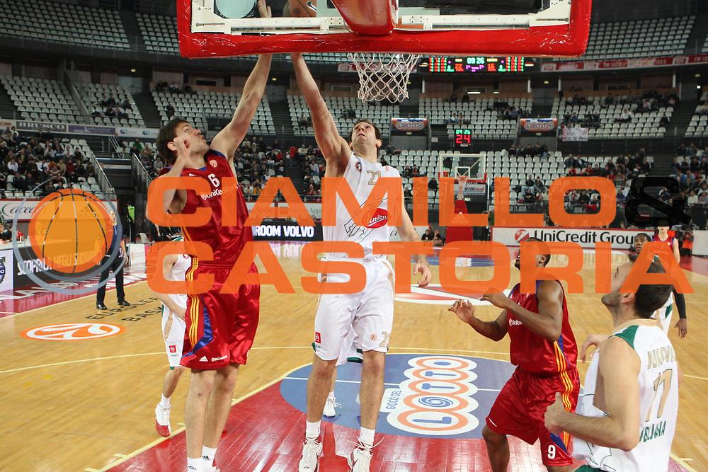 DESCRIZIONE : Roma Eurolega 2008-09 Lottomatica Virtus Roma Union Olimpija Lubiana<br /> GIOCATORE : Angelo Gigli<br /> SQUADRA : Lottomatica Virtus Roma<br /> EVENTO : Eurolega 2008-2009<br /> GARA : Lottomatica Virtus Roma Union Olimpija Lubiana<br /> DATA : 18/12/2008 <br /> CATEGORIA : stoppata<br /> SPORT : Pallacanestro <br /> AUTORE : Agenzia Ciamillo-Castoria/G.Ciamillo
