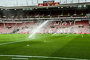 Stadium of Light during the Barclays Premier League match between Sunderland and Newcastle United at the Stadium Of Light, Sunderland, England on 25 October 2015. Photo by Simon Davies.