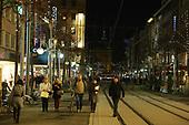 Weihnachtsbeleuchtung Planken