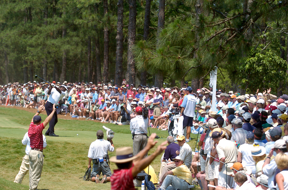 PINEHURST, NORTH CAROLINA - JUNE 18, 2005<br /> Vijay SINGH during the 3rd round of the 2005 U.S. Open Championship, held at Pinehurst No.2 in the Village of Pinehurst, North Carolina.