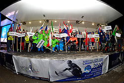 Super Combined and Super G, Medal Ceremony, Behind the scenes at the WPAS_2019 Alpine Skiing World Championships, Kranjska Gora, Slovenia