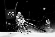 Erjon Tola of Albania competes during the first run of the Men's Giant Slalom during the 2010 Vancouver Winter Olympics in Whistler, Canada, on Feb. 23, 2010.