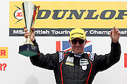 Jason Plato wins Rounds 10 of the Dunlop MSA British Touring Car Championship at Oulton Park, Budworth, Cheshire, United Kingdom on 7th June 2015. Photo by Aaron Lupton.