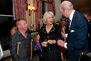 LEE PEARSON; CAMILLA DUCHESS OF CORNWALL; NICHOLAS PETO, , The Lady Joseph Trust, fundraising party.<br /> Camilla, Duchess of Cornwall  attends gala fundraising event as newly appointed President of the charity. The Lady Joseph Trust was formed in 2009 to raise funds to acquire horses for the UKÕs top Paralympic riders Cavalry and Guards Club, 127 Piccadilly, London,<br /> 26 October 2011. <br /> <br />  , -DO NOT ARCHIVE-© Copyright Photograph by Dafydd Jones. 248 Clapham Rd. London SW9 0PZ. Tel 0207 820 0771. www.dafjones.com.<br /> LEE PEARSON; CAMILLA DUCHESS OF CORNWALL; NICHOLAS PETO, , The Lady Joseph Trust, fundraising party.<br /> Camilla, Duchess of Cornwall  attends gala fundraising event as newly appointed President of the charity. The Lady Joseph Trust was formed in 2009 to raise funds to acquire horses for the UK's top Paralympic riders Cavalry and Guards Club, 127 Piccadilly, London,<br /> 26 October 2011. <br /> <br />  , -DO NOT ARCHIVE-© Copyright Photograph by Dafydd Jones. 248 Clapham Rd. London SW9 0PZ. Tel 0207 820 0771. www.dafjones.com.