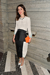 LARA BOHINC at the opening of Roksanda - the new Mayfair Store for designer Roksanda Ilincic at 9 Mount Street, London on 10th June 2014.