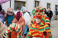 Caretos of Podence carnival, Macedo de Cavaleiros Portugal