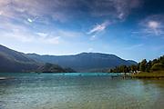 Aiguebelette, FRANCE, <br /> 2015 FISA World Rowing Championships, <br /> <br /> Venue, Lake Aiguebelette - Savoie. <br /> <br /> Thursday  27/08/2015  [Mandatory Credit. Peter SPURRIER/Intersport Images.