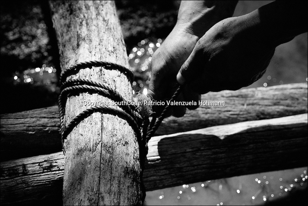 Handmade Balsas making it`s an old tradition, passed over generations. Now it`s almost forgotten.<br /> In Chile`s western Patagonia the Balseros (boatmen) of the Baker river are in danger of loosing it`s ways of work as the last  families that live on logging (only dead trees logging permitted by law) move their production using the river as a highway and natural landscape are threaten by the &quot;Hydroaysen Project&quot;, a $3 billion project which plans to build five dams in Patagonia rivers, two of  them in the Baker river, flooding thousands of hectares and building a 3.000 km. long transmission line which will send energy to the huge northern Chilean mining industry destroying one of the world most pristine and untouched natural areas of the planet. As South America holds one of the worlds biggest water resources of the planet first world companies such as the Italian ENEL, the Spanish Endesa, among others want to put their hands on them. By corporate lobbing they promote state corruption, divide communities and lie to citizens as new clean energy generating ways are taking the lead around the globe they promote old, destructive and obsolete energy generating ways.