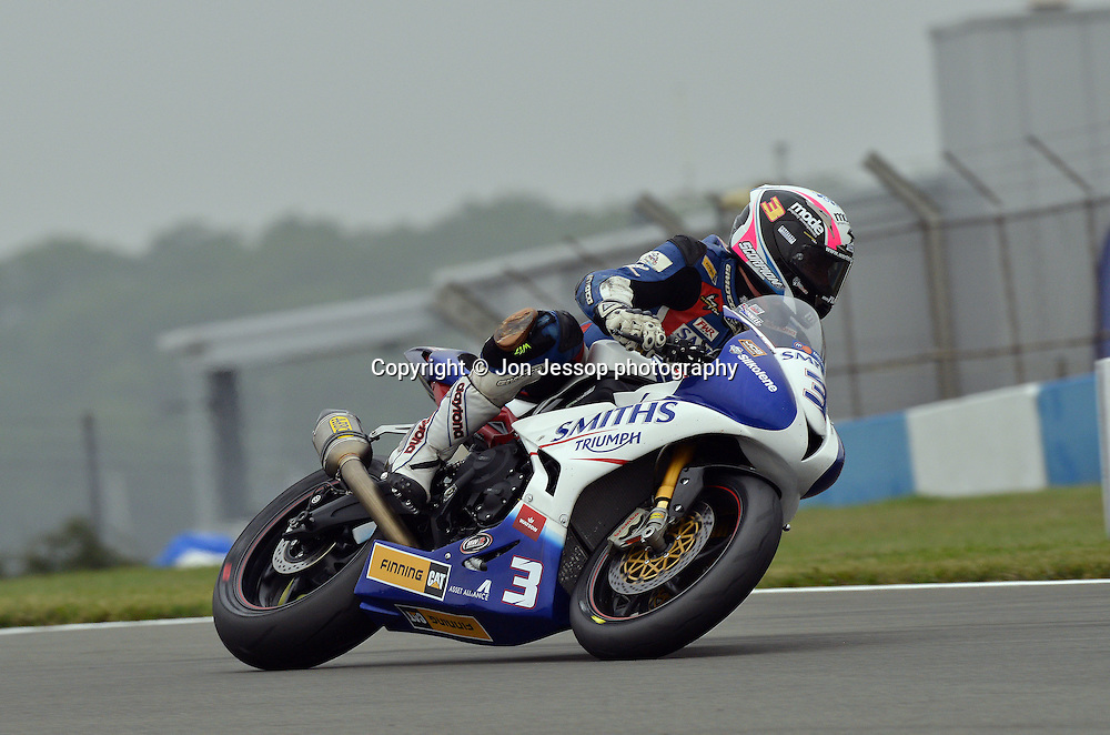 #3 Billy McConnell Smiths Racing Triumph British Supersport