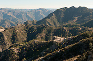 Tarahumara settlement in the Copper Canyon, Mexico