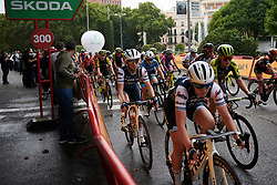 Letizia Paternoster (ITA) in the bunch at La Madrid Challenge by La Vuelta 2019 - Stage 2, a 98.6 km road race in Madrid, Spain on September 15, 2019. Photo by Sean Robinson/velofocus.com