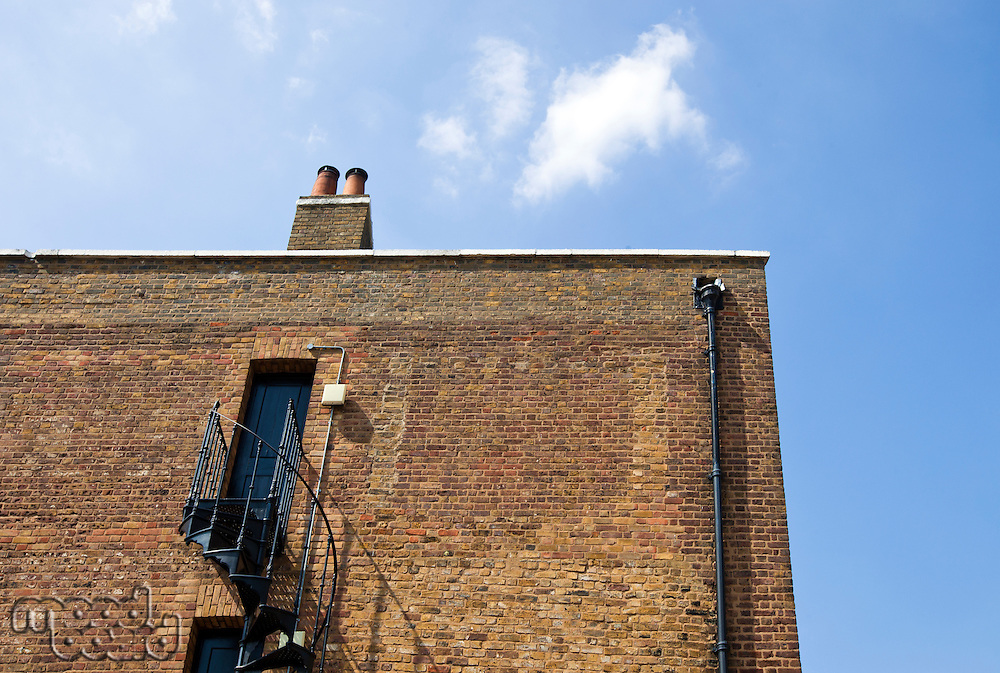 Close up of brick wall