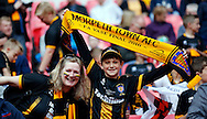 Morpeth Town AFC fans prior to the FA Vase Final at Wembley Stadium, London<br /> Picture by Simon Moore/Focus Images Ltd 07807 671782<br /> 22/05/2016