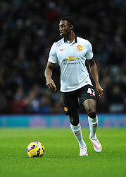 Manchester United's Tyler Blackett  - Photo mandatory by-line: Joe Meredith/JMP - Mobile: 07966 386802 - 20/12/2014 - SPORT - football - Birmingham - Villa Park - Aston Villa v Manchester United - Barclays Premier League