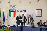 Conferenza stampa per la presentazione del campionato Under 20 che si terr&agrave; a Lignano Sabbiadoro<br /> Nella foto: Giovanni Adami <br /> Agenzia Ciamillo/Castoria