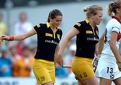 20-05-2007 HOCKEY: FINALE PLAY OFF: DEN BOSCH - AMSTERDAM: DEN BOSCH <br /> Den Bosch voor de tiende keer op rij kampioen van de Rabo Hoofdklasse Dames. In de beslissende finale versloegen zij Amsterdam met 2-0 / Lidewij Welten scoort de 1-0 en Vera Vorstenbosch<br /> ©2007-WWW.FOTOHOOGENDOORN.NL