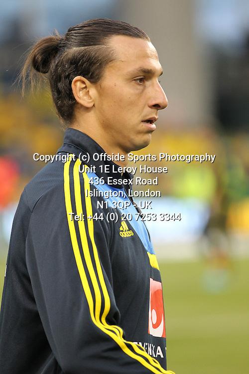 06/09/2013 FIFA 2014 World Cup Qualifying - Group C . Rep of Ireland v Sweden<br /> Zlatan Ibrahimovic <br /> Photo: John Halas