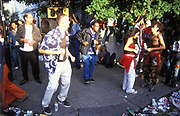People dancing in the street, Notting Hill Carnival 2004