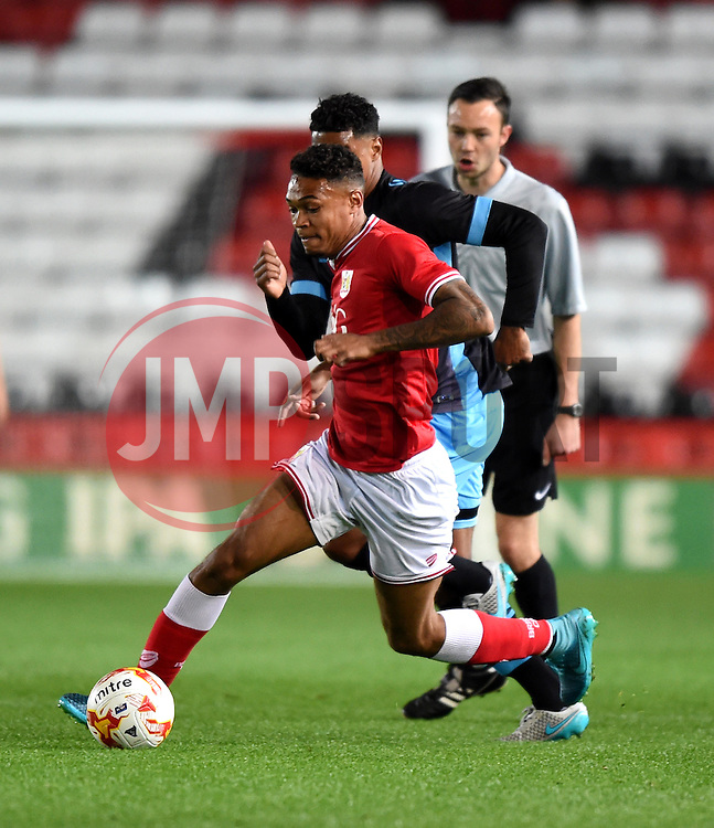 Marley Bishop-Wisdom of Bristol City - Mandatory by-line: Paul Knight/JMP - Mobile: 07966 386802 - 12/10/2015 -  FOOTBALL - Ashton Gate Stadium - Bristol, England -  Bristol City U21 v Sheffield Wednesday U21 - Professional Development League