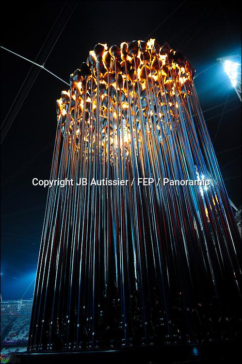 illustration flamme olympique