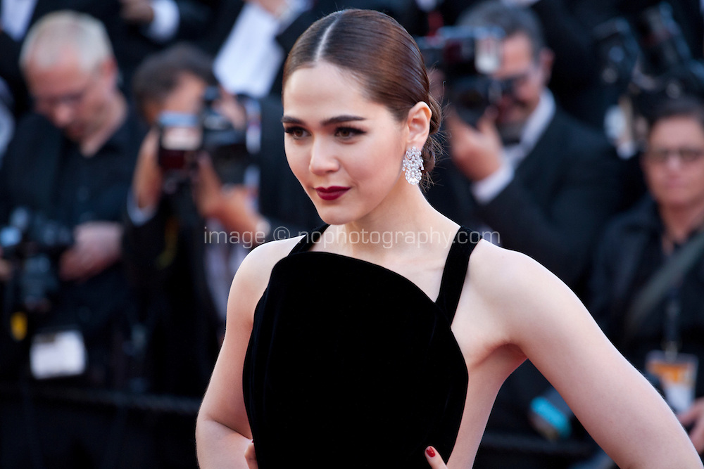 Araya A. Hargate at the gala screening for the film Mal De Pierres (From the Land of the Moon) at the 69th Cannes Film Festival, Sunday 15th May 2016, Cannes, France. Photography: Doreen Kennedy